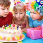 Детские праздники и место их проведения