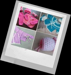 способ вязания одежды для новорожденного