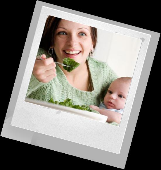 Какой должна быть еда во время кормления грудью ?