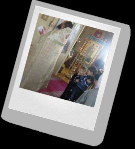 чтение молитвы, постановка свечей, участие в ритуалах