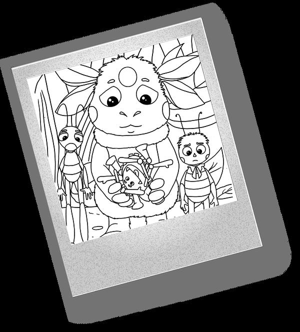Развивающие игры для детей — Лунтик и аналогичные