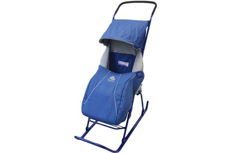 Оптимальный транспорт для малышей для зимних прогулок