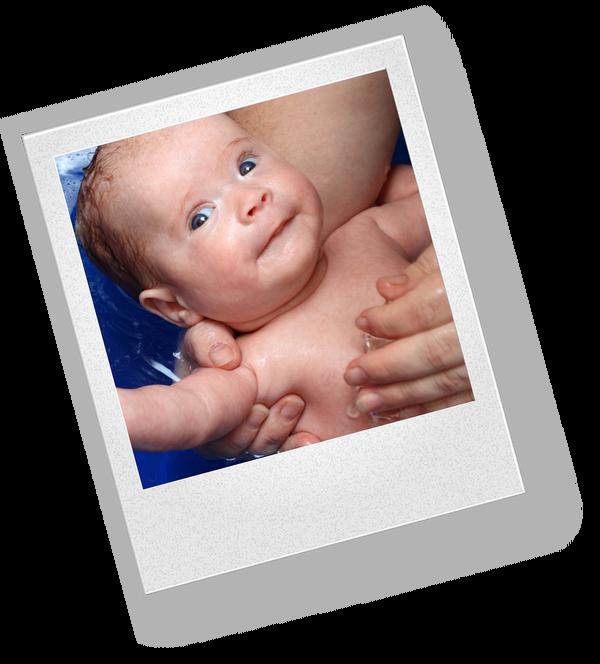 Что входит в утренние процедуры для новорожденного